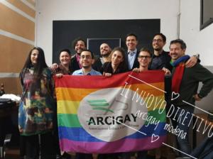 Nuovo Direttivo di Arcigay Modena Matthew Shepard