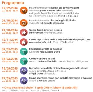 San Simone Calendario.Sassuolo Ciclo Di Incontri All Emporio Melograno Nuovi