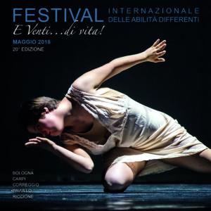 Festival internazionale delle abilità differenti al via il 3 maggio