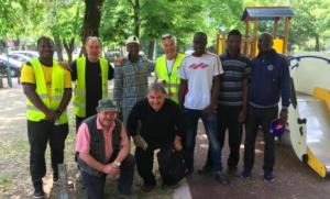 In rete con i migranti: lavori in corso