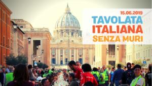 Modena, 15 giugno: Tavolata Italiana senza muri al Parco Amendola