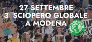Appello per il clima agli Enti di Terzo Settore della provincia di Modena