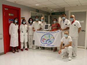 Stroke Unit, l'Associazione ALICe dona un ventilatore alla Neurologia di Baggiovara