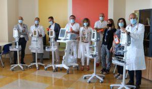 Angela Serra dona strumenti all'Oncologia Modenese. Un supporto per le attività cliniche in fase COVID19