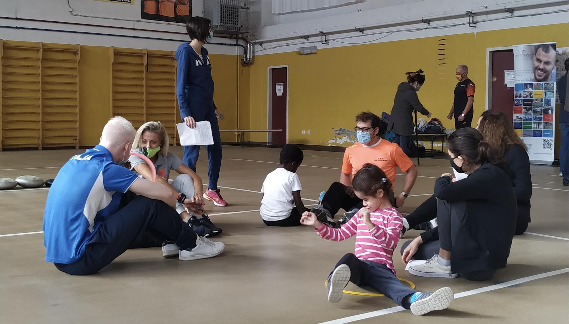 Nasce A Formigine La Quinta Scuola In Italia Per Bambini Non Vedenti Csv Terre Estensi Modena