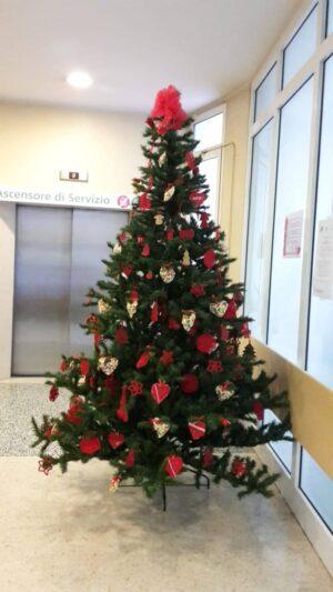 Gli alberi di Natale della LILT per i pazienti del Centro Oncologico Modenese